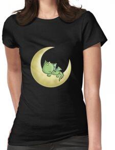Sleepy Dragon  Womens Fitted T-Shirt