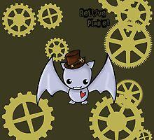SteamPunk Bat by reloveplanet