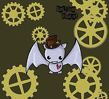 SteamPunk Bat by Bianca Loran