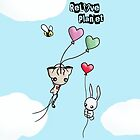 Heart Balloon Rides by reloveplanet