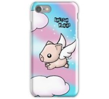 When Pigs Fly iPhone Case/Skin