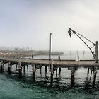The Jetty and Crane by Dean Wiles