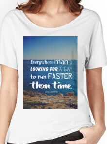 The challenge against time Women's Relaxed Fit T-Shirt