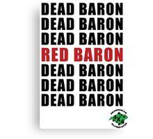 Red Baron Canvas Print