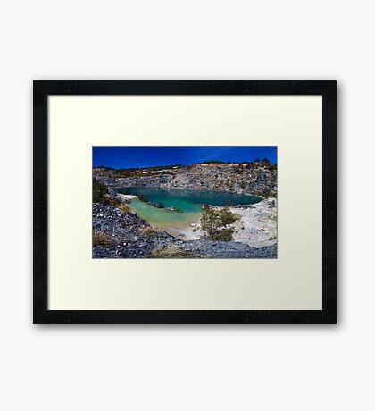 Perth hill , Western Australia Framed Print