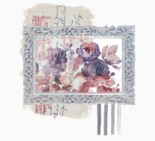 Romantic Flowers  One Piece - Long Sleeve