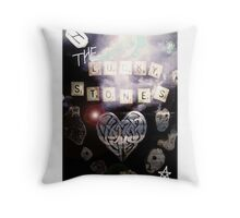 The Lucky Stones by imye  Throw Pillow