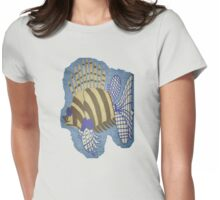 Exotic Tropical Fish Womens Fitted T-Shirt