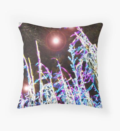 The Dark Side by imye  Throw Pillow