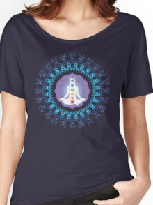 Young woman practicing meditation 10 Women's Relaxed Fit T-Shirt