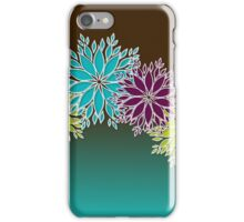 Holiday Design Challenge: Retro-stract Floral #giftoriginal iPhone Case/Skin