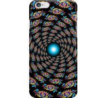 Psychedelic eyes mandala 15 iPhone Case/Skin