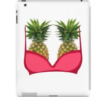 Pineapple bra iPad Case/Skin