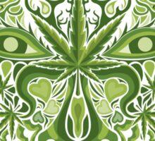 Marijuana demon face Sticker