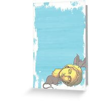 To The Rodents - Graphic Print Greeting Card