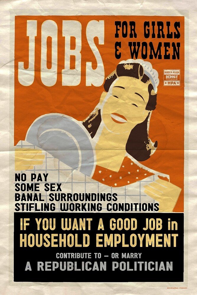 Jobs for Girls… by MStyborski