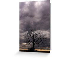 Eerie 'Scape_1 Greeting Card