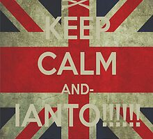 keep calm Ianto by SanderN
