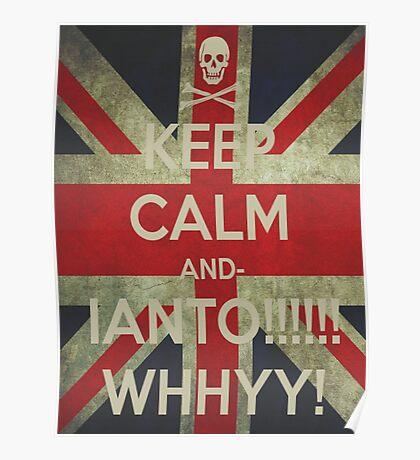 keep calm Ianto Poster