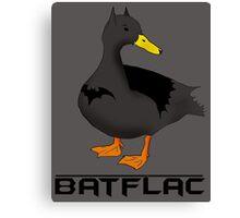 Batflac Canvas Print