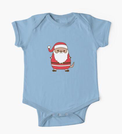 Cute Christmas Santa Pupsheen One Piece - Short Sleeve