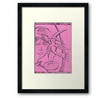 wings and tales Framed Print