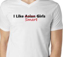 I Like Smart Girls Mens V-Neck T-Shirt