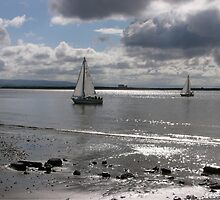 Yachts, Burnham-on-Sea. by Antony R James