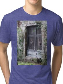 old door Tri-blend T-Shirt