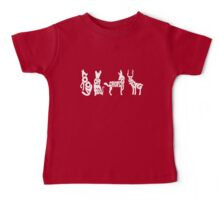Moony, Wormtail, Padfoot & Prongs 2 Baby Tee