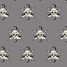 Bad 2 The Bones (Pattern 2) by Adamzworld