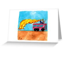 Queen of the Desert Greeting Card