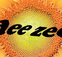 Dee Zee Sunflower Sticker
