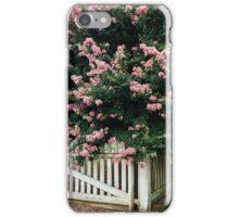 Colonial Williamsburg Crepe Myrtle iPhone Case/Skin
