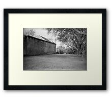 The Old Richmond Gaol Framed Print