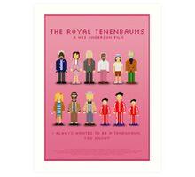 The Royal Pixelbaums Art Print