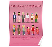 The Royal Pixelbaums Poster
