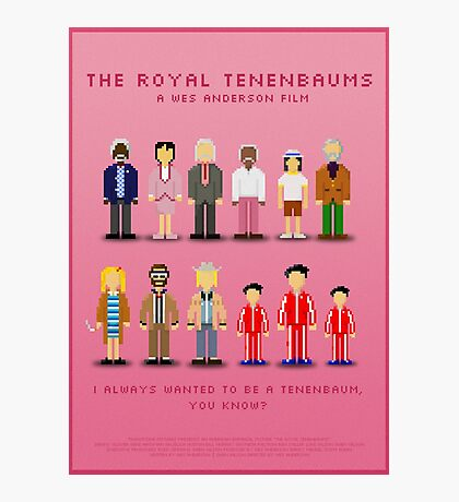 The Royal Pixelbaums Photographic Print