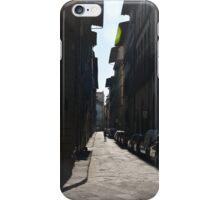 Florence street scene iPhone Case/Skin