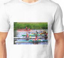 Burton Canoe Race, The Start Unisex T-Shirt