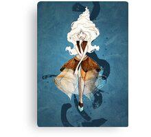 Frozen Yogurt Princess Canvas Print