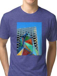 Glass Sculpture Tri-blend T-Shirt