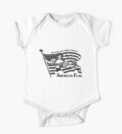American Flag Forever One Piece - Short Sleeve