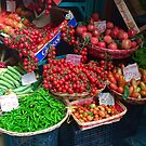 Tomatoes in Naples by Christine  Wilson