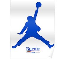 bernie sanders and basketball Poster