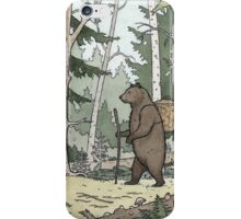 Bear in the Woods iPhone Case/Skin