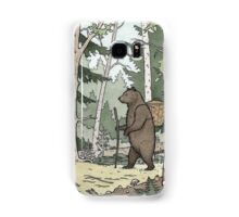 Bear in the Woods Samsung Galaxy Case/Skin