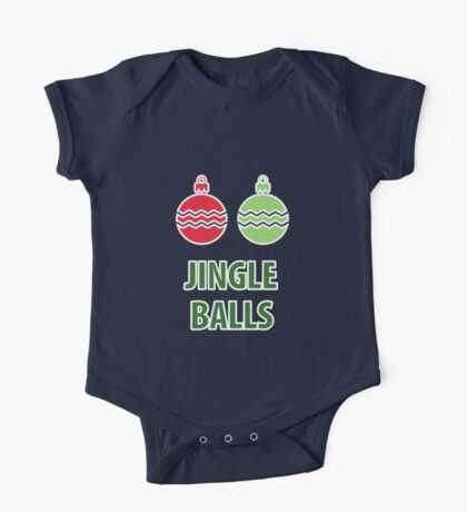 Jingle Balls One Piece - Short Sleeve