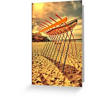 2016 Sculpture by the Sea 19 Greeting Card
