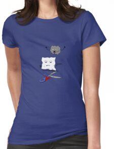 Rock Paper Scissors Womens Fitted T-Shirt